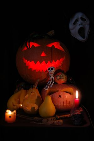 Halloween composition Stock Photo - 2004959