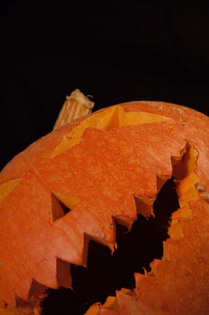 Halloween pumpkin isolated Stock Photo - 2004974