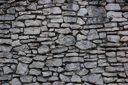 Stone wall of an old castle in Chelmno, Poland Stock Photo - 2327400