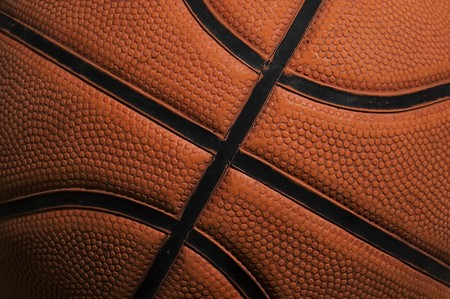 High detailed basket ball texture. Stock Photo - 4450663