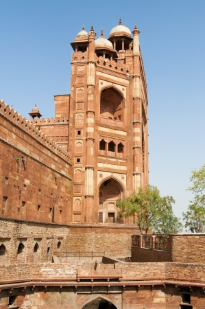 uttar: Red Fort in Agra, Uttar Pradesh, India