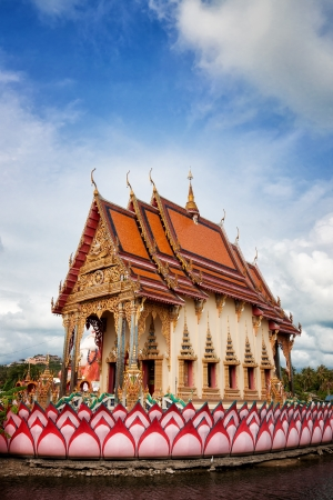 koś: Buddhist temple at Ko Samui island, Thailand