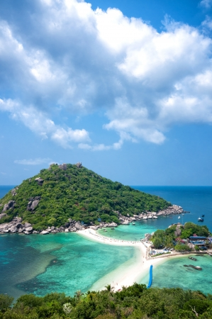 Idylic islands Ko Nang Yuan in Thailand photo