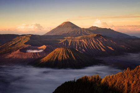 Bromo volcano,Tengger Semeru National Park, East Java, Indonesia Stock Photo - 39164683