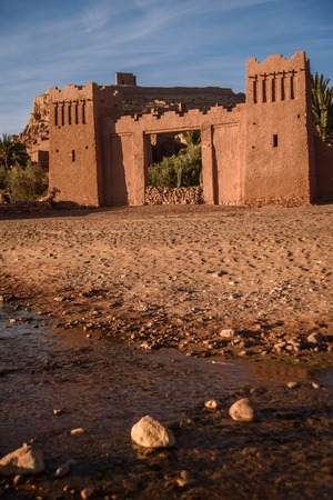Kasbah Ait Ben Haddou, Morocco, Africa. Stock Photo