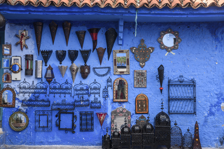 Chefchaouen, the blue city in the Morocco is a popular travel destination