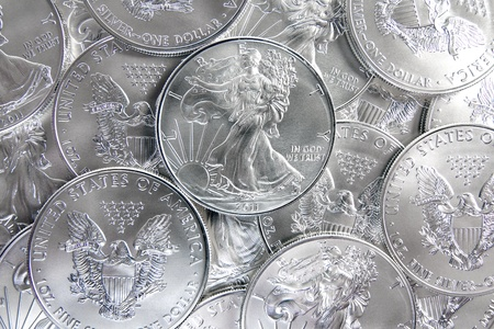 tangible: 2011 Uncirculated American Silver Eagle Coins