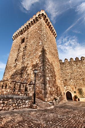Medieval Stone Turret at Alarcon, Spain