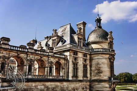 chantilly: Chateau de Chantilly in France Editorial