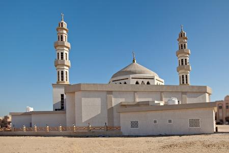 Modern Mosque Building in Kuwait