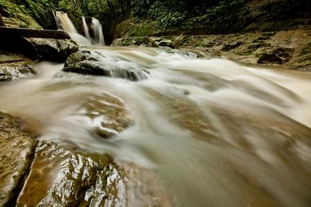 bohol: Mag-aso Falls in Bohol, Philippines Stock Photo