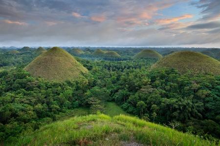 Chocolate Hills in Bohol, Philippines photo