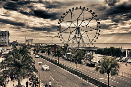 Ferris Wheel at Manila, Philippines
