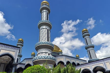 JameAsr Hassanil Bolkiah Mosque in Brunei
