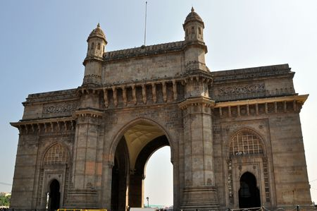 Gateway Of India in Mumbai during the sunny day.