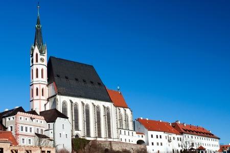 St. Vitus Church in Cesky Krumlov, Czech Republic. photo