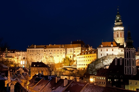 View at Cesky Krumlov, city protected by UNESCO. photo