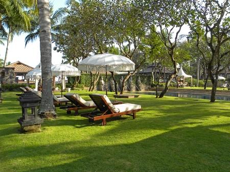 JIMBARAN, BALI - 26 JUNE, 2009: Picture of luxury five star hotel in Jimbaran, Bali on June 26, 2009.                       Stock Photo - 9204929