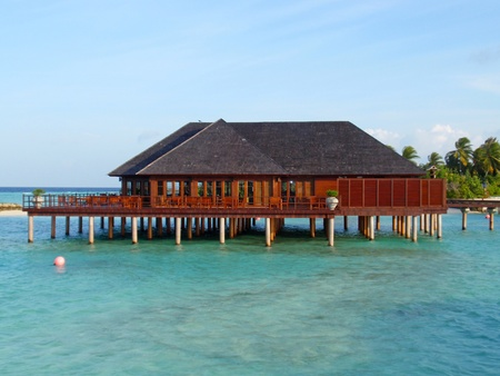 Architecture at Maldives, picture taken during the sunny day. Stock Photo - 9958676
