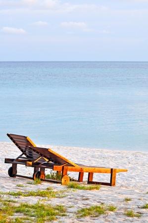 A deserted beach on the tropical island near Borneo. Stock Photo - 9958880