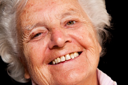 Portrait of a senior woman, picture taken during the daytime. Stock Photo - 11030549