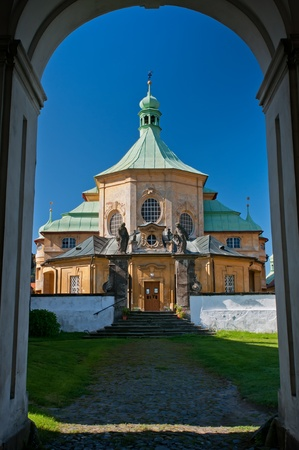 An old cathedral in the Czech Republic. photo