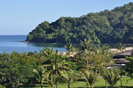 Luxury hotel resort near Kota Kinabalu, Borneo. photo