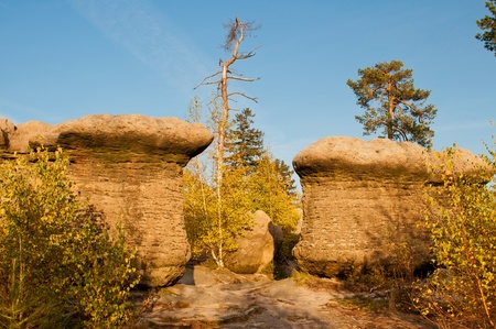 Geological formations  photo