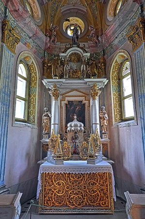 Beautiful church interior, picture taken inthe Czech Republic, Europe. HDR picture.