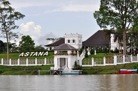 astana: Astana is a palace in Kuching and official residence of the Governor of Sarawak.