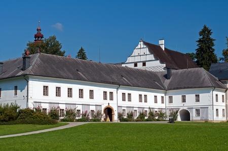 manor house: Castle in Velke Losiny, picture taken in the Czech Republic.