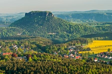 czech switzerland: Bella natura nel parco nazionale della Repubblica ceca-Sassonia Svizzera.