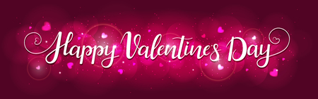 Bright background for Valentines day. Illustration in vector. You can use for greeting cards, posters and design projects 版權商用圖片 - 125659459