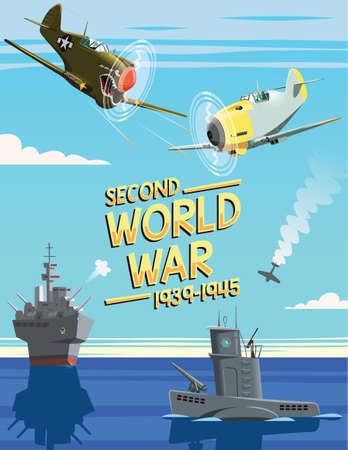 World War Two scene