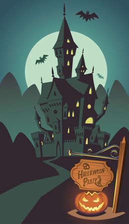 Spooky Halloween hotel
