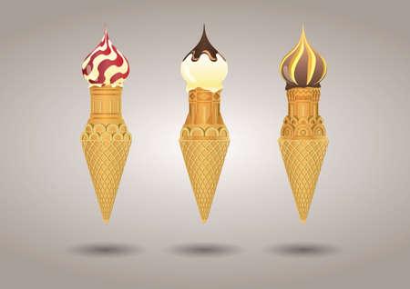 Ice cream 版權商用圖片 - 157264589
