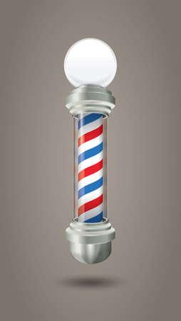 Barber shop pole 版權商用圖片 - 157069774