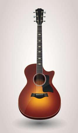 Acoustic guitar 版權商用圖片 - 157069776