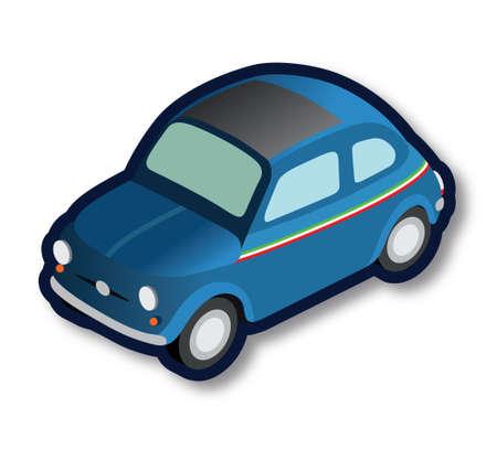 Vintage Italian car 版權商用圖片 - 157069787