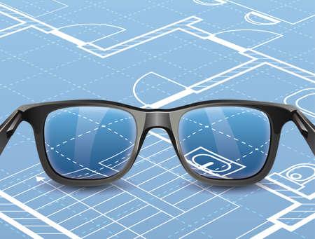 Glasses stock 版權商用圖片 - 157264054
