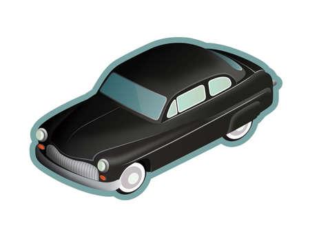 Mercury Eight oldtimer car