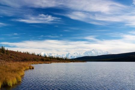 mckinley: Mt  McKinley taken from Wonder Lake