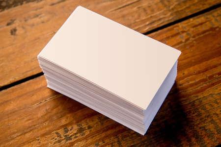 Business card material 写真素材