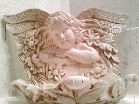 Vintage Porcelain Angel