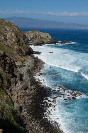 nicknamed: North Maui secluded beach nicknamed windmills