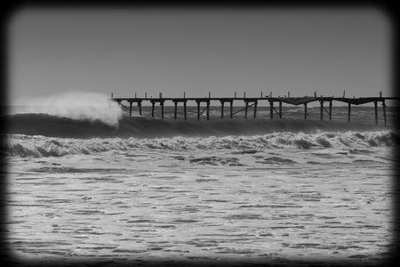 swell: Huge swell pounds the east coast during hurricane season