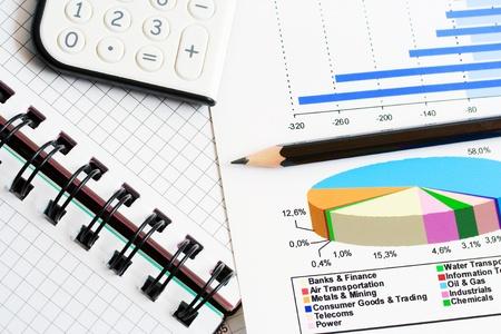 Financial analysis Banco de Imagens