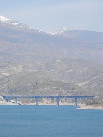 alpujarra: Alpujarra Mountains and Reservoir