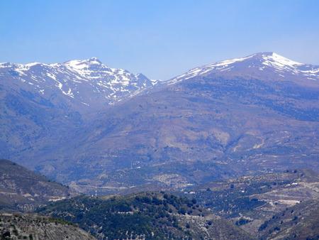 alpujarra: Alpujarra Mountains Stock Photo