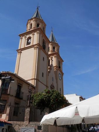 steeples: Orgiva Church, Apujarras, Andalucia